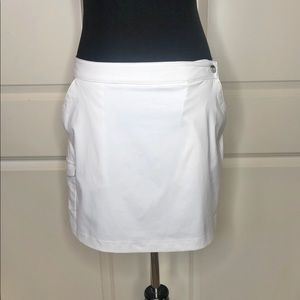 Columbia White Omni Freeze Skort